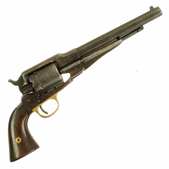 Original U.S. Civil War Remington New Model 1863 Army Revolver Converted to .46 Rimfire  - Serial 140423 Original Items