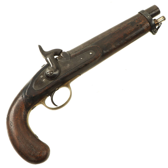 Original U.S. Civil War Era Belgian Made P-1853 Enfield Export Rifle Converted to Pistol with Anchor Markings Original Items