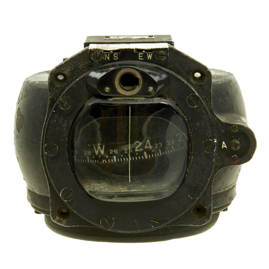 "Original Japanese WWII Mitsubishi Ki-67 ""Peggy"" Bomber Type 98 Otu Aircraft Compass Original Items"