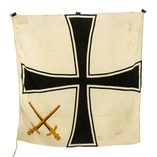 Original German WWII General Admiral Rank 1.5 X 1.5 Meter Command Flag - Generaladmiralflagge Original Items