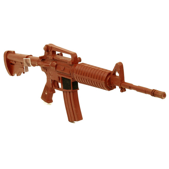 "Original U.S. Colt M16A2 AR-15 ""Rubber Duck"" All Rubber Molded Training Carbine - 34"" long Original Items"