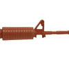 "show larger image of product view 5 : Original U.S. Colt M16A2 AR-15 ""Rubber Duck"" All Rubber Molded Training Carbine - 34"" long Original Items"