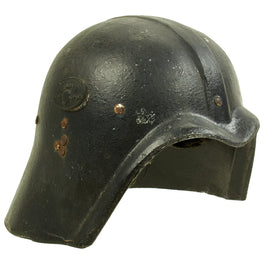 Original Iraqi Fedayeen Helmet with Liner and Chinstrap - Operation Iraqi Freedom Bring Back