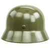 show larger image of product view 6 : Original German WWII Army Heer M35 Single Decal Steel Helmet with Buffed Original Paint - SE62 Original Items