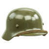 show larger image of product view 7 : Original German WWII Army Heer M35 Single Decal Steel Helmet with Buffed Original Paint - SE62 Original Items