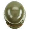 show larger image of product view 8 : Original German WWII Army Heer M35 Single Decal Steel Helmet with Buffed Original Paint - SE62 Original Items