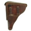 show larger image of product view 2 : Original German Rare Pre-WWII Dutch Navy Contract Brown Hardshell P-08 Luger Holster #19 c. 1935 Original Items