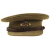 show larger image of product view 5 : Original British WWII South Staffordshire Regiment Officer Peaked Visor Cap Original Items