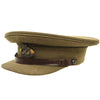 show larger image of product view 2 : Original British WWII South Staffordshire Regiment Officer Peaked Visor Cap Original Items