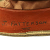 show larger image of product view 12 : Original British WWII South Staffordshire Regiment Officer Peaked Visor Cap Original Items