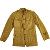 show larger image of product view 19 : Original U.S. WWI Advance Sector Service of Supply M1917 Uniform Service Coat Original Items
