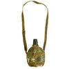 "show larger image of product view 1 : Original Japanese WWII Late War Porcelain ""Glass"" Canteen with Bakelite Cap & Harness Original Items"