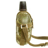 "show larger image of product view 4 : Original Japanese WWII Late War Porcelain ""Glass"" Canteen with Bakelite Cap & Harness Original Items"