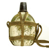 "show larger image of product view 5 : Original Japanese WWII Late War Porcelain ""Glass"" Canteen with Bakelite Cap & Harness Original Items"