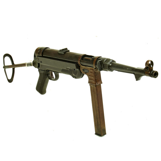 German WWII MP 40 Cap Plug Firing Submachine Gun by MGC of Japan Original Items