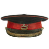 show larger image of product view 3 : Original British WWII The King's Liverpool Regiment Colonel Parade Visor Cap Original Items