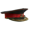 show larger image of product view 1 : Original British WWII The King's Liverpool Regiment Colonel Parade Visor Cap Original Items