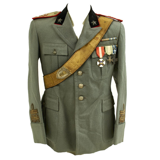Original WWII Italian Army General Uniform Jacket Original Items