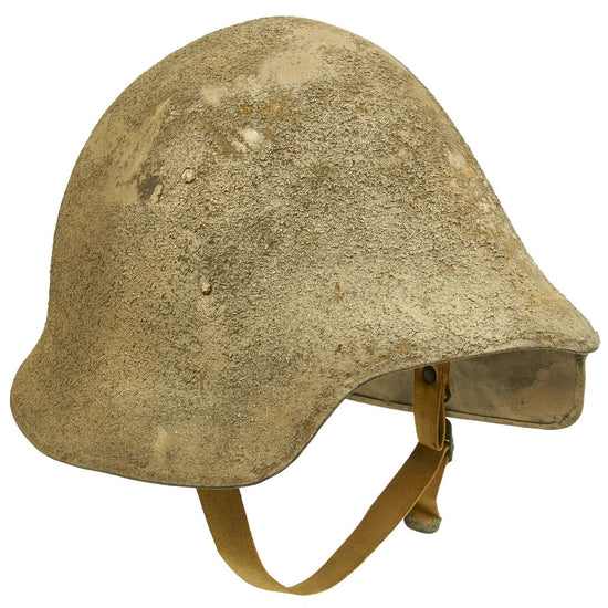 Original U.S. WWI 1917 Model 2 Experimental Helmet by Ford Motor Company with Partial Liner Original Items