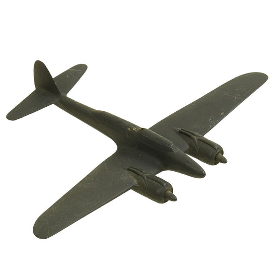 Original U.S. WWII 1945 Japanese Nakajima J1N1 Gekkō Irving Night Fighter Recognition Model Airplane by Cruver Original Items