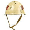 show larger image of product view 7 : Original Cold War 1948 Russian Soviet SSh-39 Steel Combat Helmet - Converted to Traffic Police in 1969 Original Items