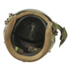 show larger image of product view 9 : Original U.S. 1980s Camouflage HGU-26/P Flight Helmet with Dual Visor Original Items