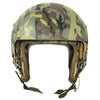 show larger image of product view 7 : Original U.S. 1980s Camouflage HGU-26/P Flight Helmet with Dual Visor Original Items