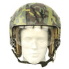 show larger image of product view 2 : Original U.S. 1980s Camouflage HGU-26/P Flight Helmet with Dual Visor Original Items