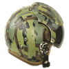 show larger image of product view 6 : Original U.S. 1980s Camouflage HGU-26/P Flight Helmet with Dual Visor Original Items