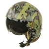 show larger image of product view 12 : Original U.S. 1980s Camouflage HGU-26/P Flight Helmet with Dual Visor Original Items