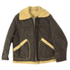 show larger image of product view 7 : Original U.S. WWII Army Air Force B-3 Style Sheepskin Bomber Jacket - Size 38 Original Items