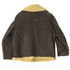 show larger image of product view 8 : Original U.S. WWII Army Air Force B-3 Style Sheepskin Bomber Jacket - Size 38 Original Items