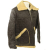 show larger image of product view 3 : Original U.S. WWII Army Air Force B-3 Style Sheepskin Bomber Jacket - Size 38 Original Items