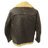 show larger image of product view 6 : Original U.S. WWII Army Air Force B-3 Style Sheepskin Bomber Jacket - Size 38 Original Items