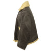 show larger image of product view 5 : Original U.S. WWII Army Air Force B-3 Style Sheepskin Bomber Jacket - Size 38 Original Items