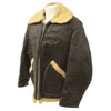 show larger image of product view 2 : Original U.S. WWII Army Air Force B-3 Style Sheepskin Bomber Jacket - Size 38 Original Items