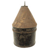 show larger image of product view 18 : Original British Pre-WWI Queen's Royal Regiment (West Surrey) Blue Cloth Helmet with Transit Tin by Hawkes & Co Original Items