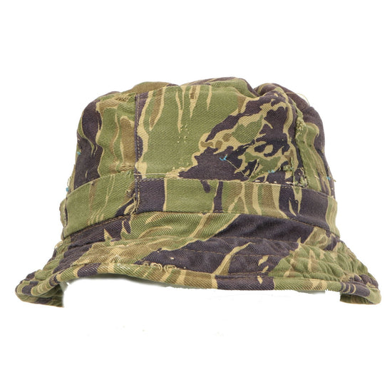 Original U.S. Vietnam War Japanese Made MACV-SOG Special Forces Camouflage Boonie Hat Original Items