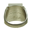 show larger image of product view 17 : Original U.S. WWII Pacific Theater Souvenir Ring Set - USN, 1944 Philippines, 1942 Initials Original Items