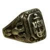 show larger image of product view 3 : Original U.S. WWII Pacific Theater Souvenir Ring Set - USN, 1944 Philippines, 1942 Initials Original Items