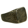 show larger image of product view 9 : Original U.S. WWII Pacific Theater Souvenir Ring Set - USN, 1944 Philippines, 1942 Initials Original Items