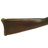 "show larger image of product view 11 : Original U.S. Springfield Model 1816 Percussion Converted Musket with Brass ""Sea Fencibles"" Butt Plate - dated 1817 Original Items"