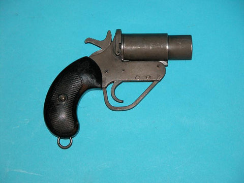 British WW2 No. 2 Mk V Signal Pistol for AFVs
