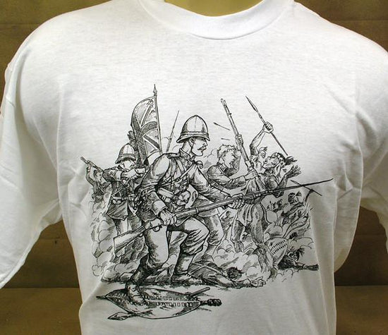 IMA Tee Shirt: British Zulu War