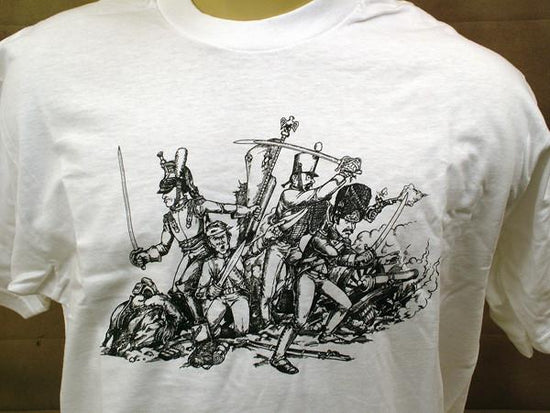 IMA Tee Shirt: Battle of Waterloo