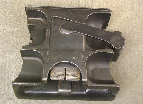 British Vickers MMG Feed Block: 7.9mm Mauser (All Steel)