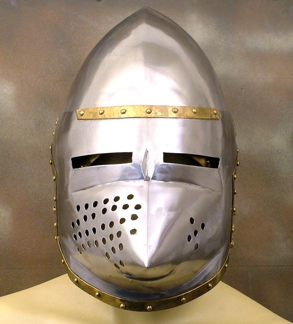 Bascinet Pig Face Knight?s Helmet: Closeout Special