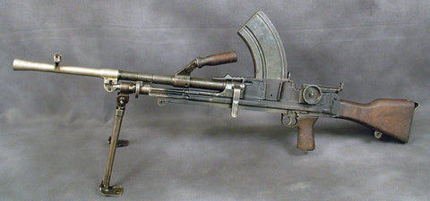 British Bren Display LMG Mark 1(M): Super Rare First Model w/ Double Slot Receiver
