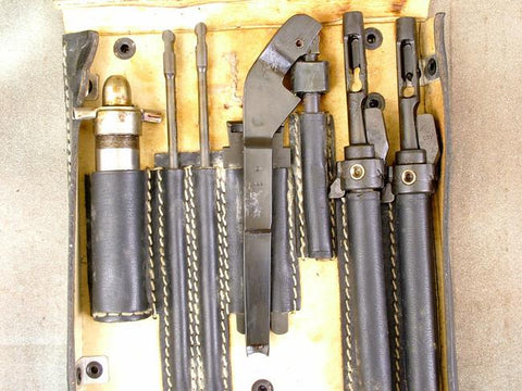 German MG 15 Spare Tool Wallet: WWII Black