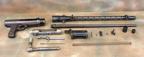 German Luftwaffe WWII MG 15 Air Cooled Parts Set